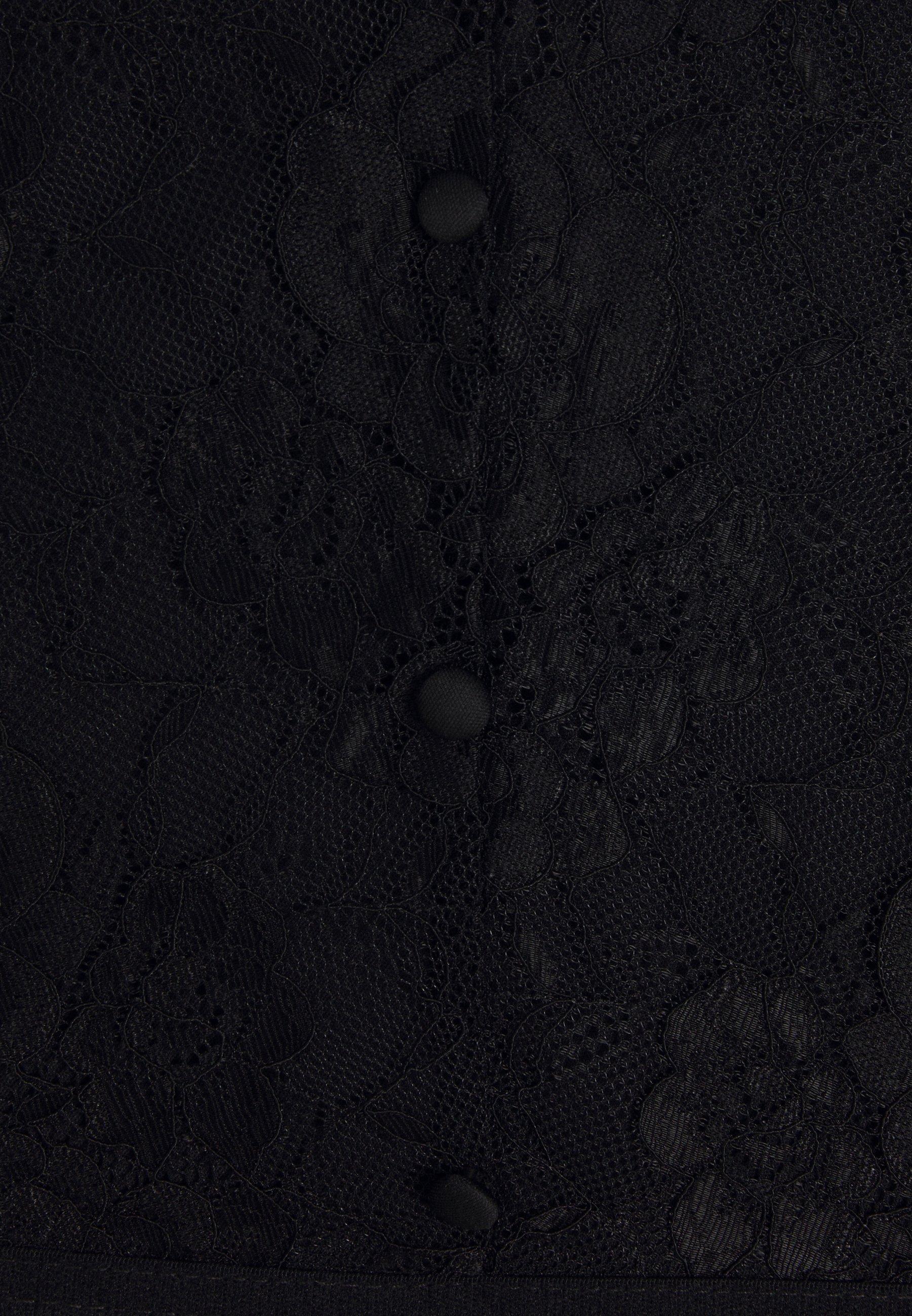 Pieces PCDITTE BODYSTOCKING Bluser black Zalando.no