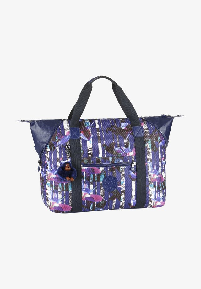 Handbag - urban flower bl
