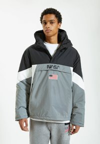 PULL&BEAR - Windbreaker - grey - 0