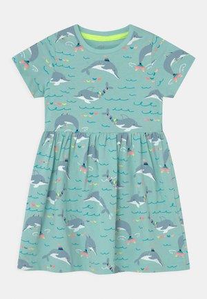 DOLPHIN DRESS - Vestido ligero - aqua