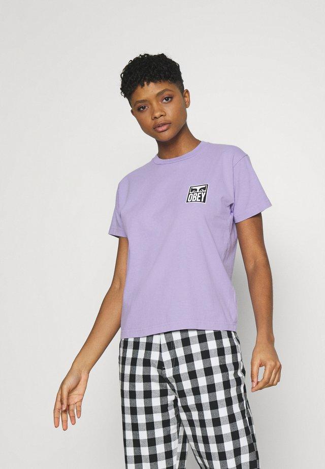 EYES - Camiseta estampada - lavender