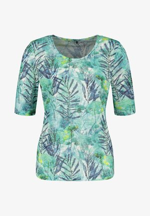 T-shirt imprimé - green/blue