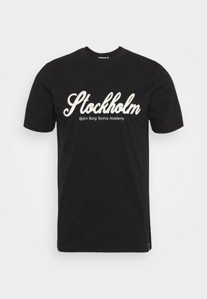 SPORT TEE - T-shirt med print - black beauty