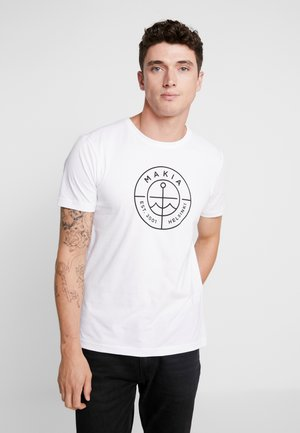 SCOPE - T-shirt print - white
