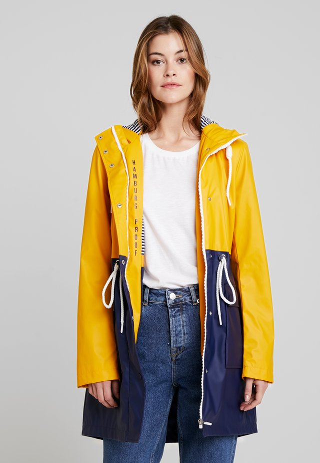 RAINCOAT - Parka - golden shine yellow