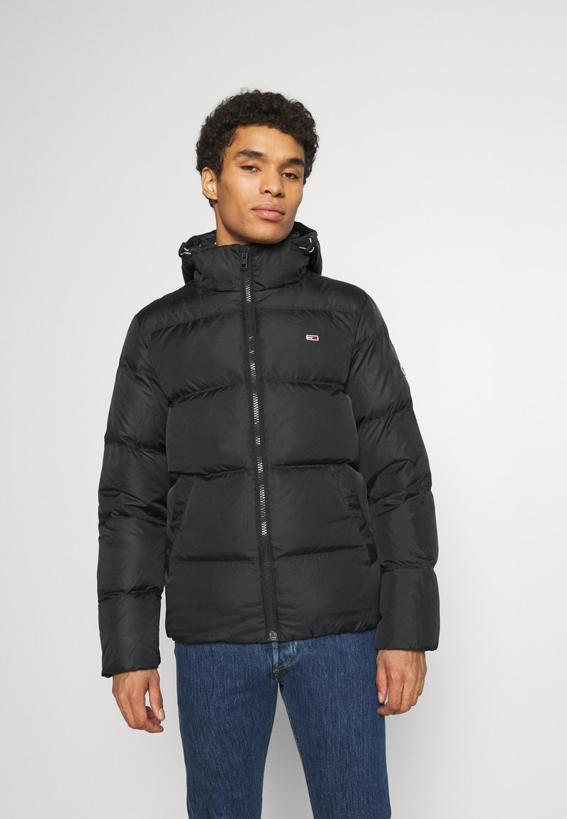 Tommy Jeans - TJM ESSENTIAL DOWN JACKET - Untuvatakki - black