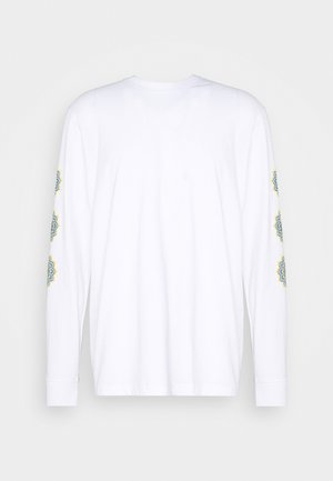 FRONT & BACK GRAPHIC PRINTED LONG SLEEVE - Long sleeved top - white