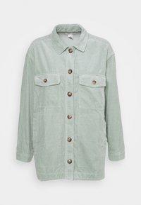 FLAP POCKET SHIRT JACKET - Button-down blouse - sage mist