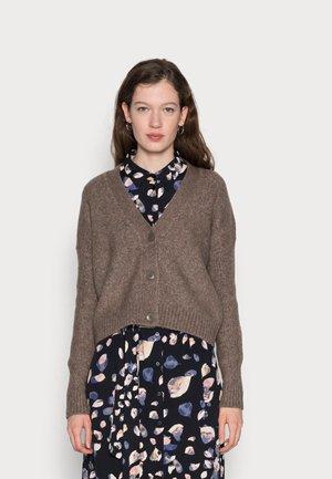 ONLMACADAMIA CARDIGAN  - Cardigan - taupe gray