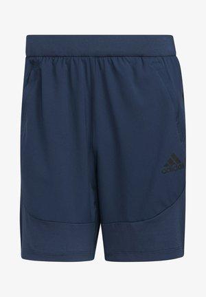 AERO3S PB DESIGNED4TRAINING PRIMEBLUE TRAINING WORKOUT SHORTS - Sports shorts - Blue