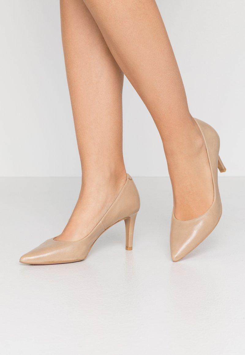 PERLATO - Classic heels - jamaica naturel