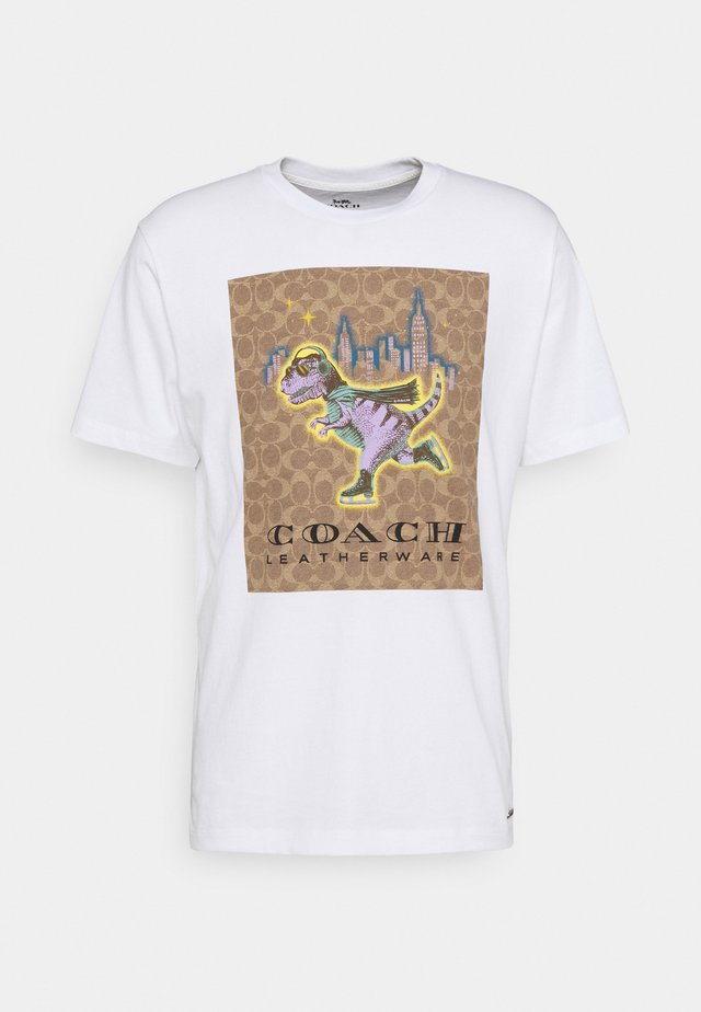 REXY SIGNATURE  - T-shirt imprimé - white/multi-coloured