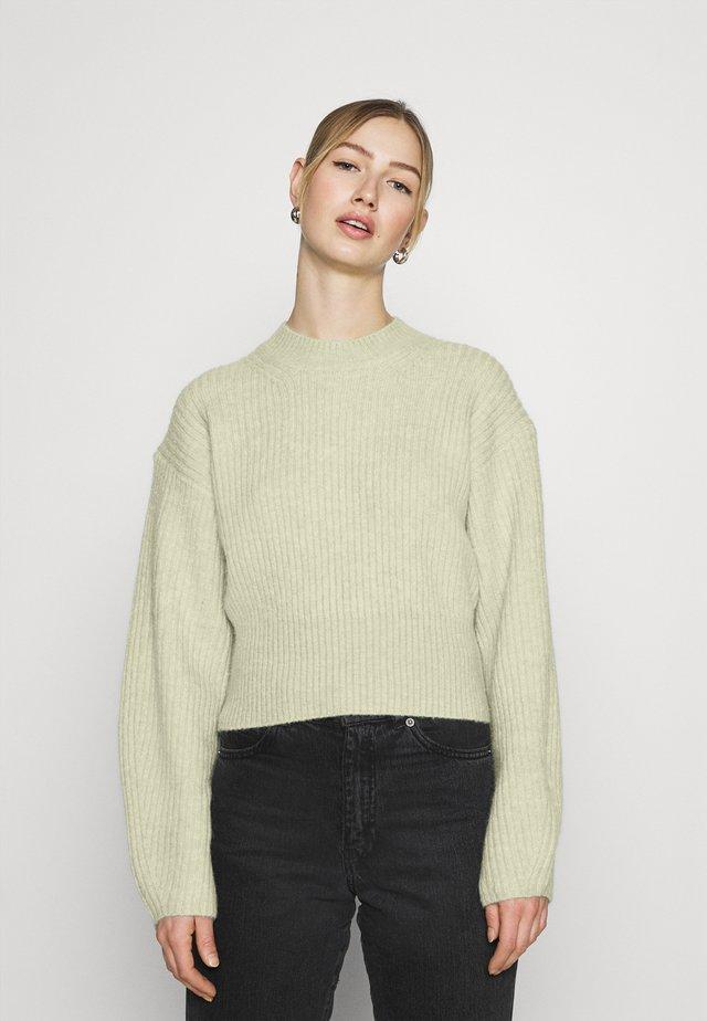 JESSA  - Sweter - green melange