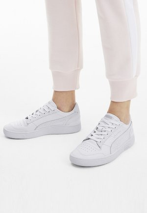Trainers - puma white/metallic silver