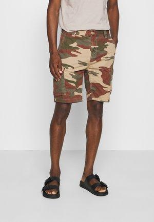 TROLIMPO - Shorts - brown/khaki