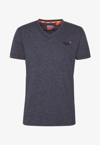 Superdry - T-shirt basique - abyss navy feeder - 5