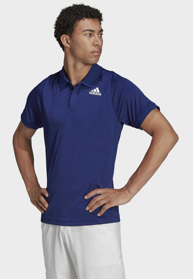 adidas Performance - TENNIS FREELIFT - Polo shirt - blue