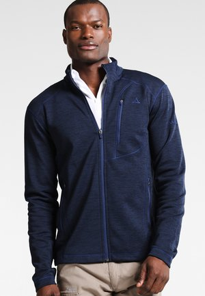 MONACO - Fleece jacket - navy blazer