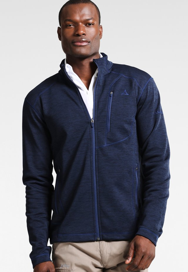 MONACO - Fleece jacket - navy blazer