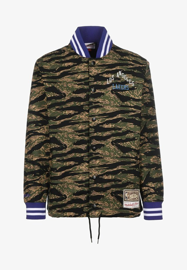 TIGER LOS ANGELES LAKERS - Trainingsvest - camo