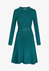 ORSAY - MIT GÜRTEL - Jumper dress - blaugrün - 3