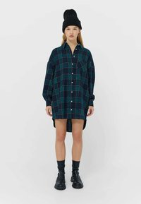 Stradivarius - Shirt dress - dark blue - 1