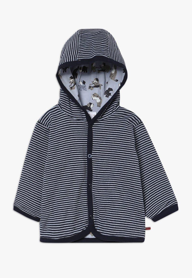 People Wear Organic - WENDEJACKE BABY - Cardigan - dunkelblau