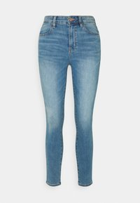 American Eagle - SUPER HIGH RISE - Jeans Skinny Fit - authentic light - 0