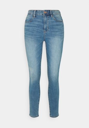 SUPER HIGH RISE - Jeans Skinny Fit - authentic light