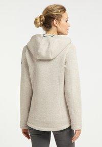 Schmuddelwedda - Fleece jacket - elfenbein melange - 2