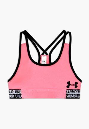 HEATGEAR - Sports bra - pink craze/black