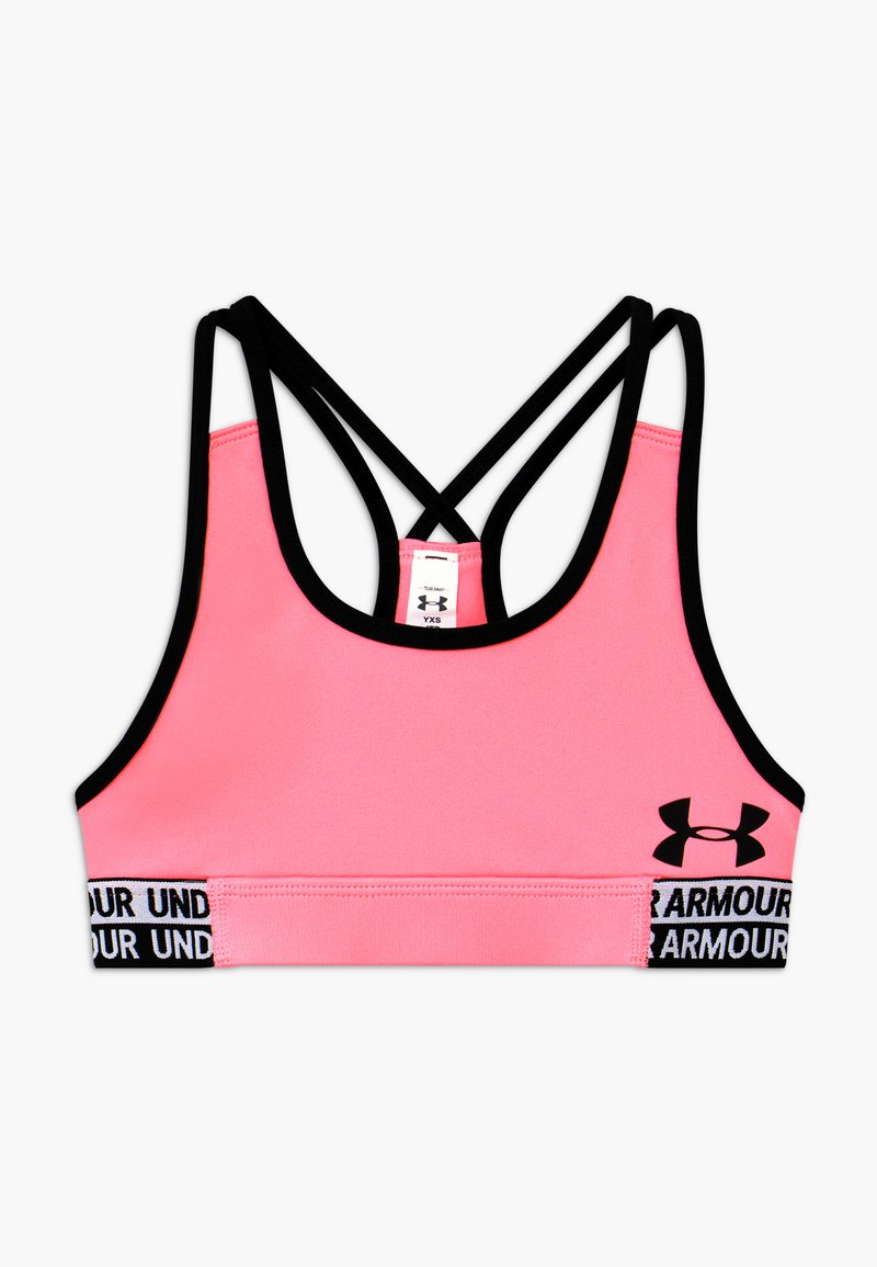 Under Armour - HEATGEAR - Sports bra - pink craze/black