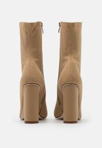 BEBO - ARANZA - High heeled ankle boots - nude - 3