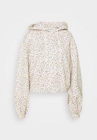 Abercrombie & Fitch - PATTERN POPOVER  - Sweatshirt - brown - 4