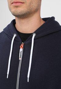 Superdry - Zip-up hoodie - american navy - 5