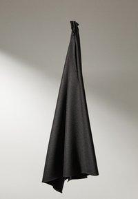 Massimo Dutti - MIT ZACKEN AM SAUM - Spódnica trapezowa - dark grey - 3