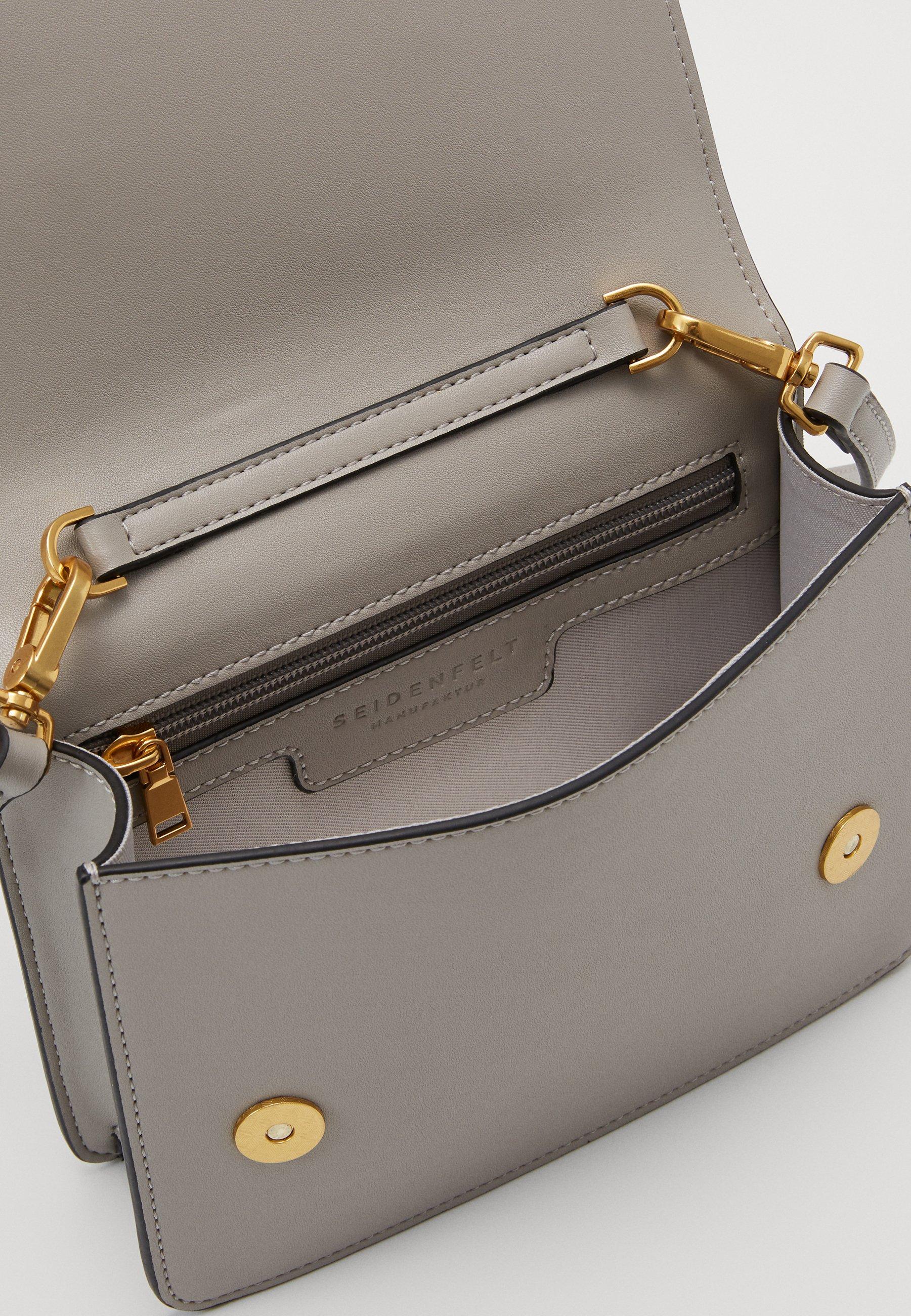 Seidenfelt LEVANGER - Across body bag - powder taupe - Women's Bags Best Choice