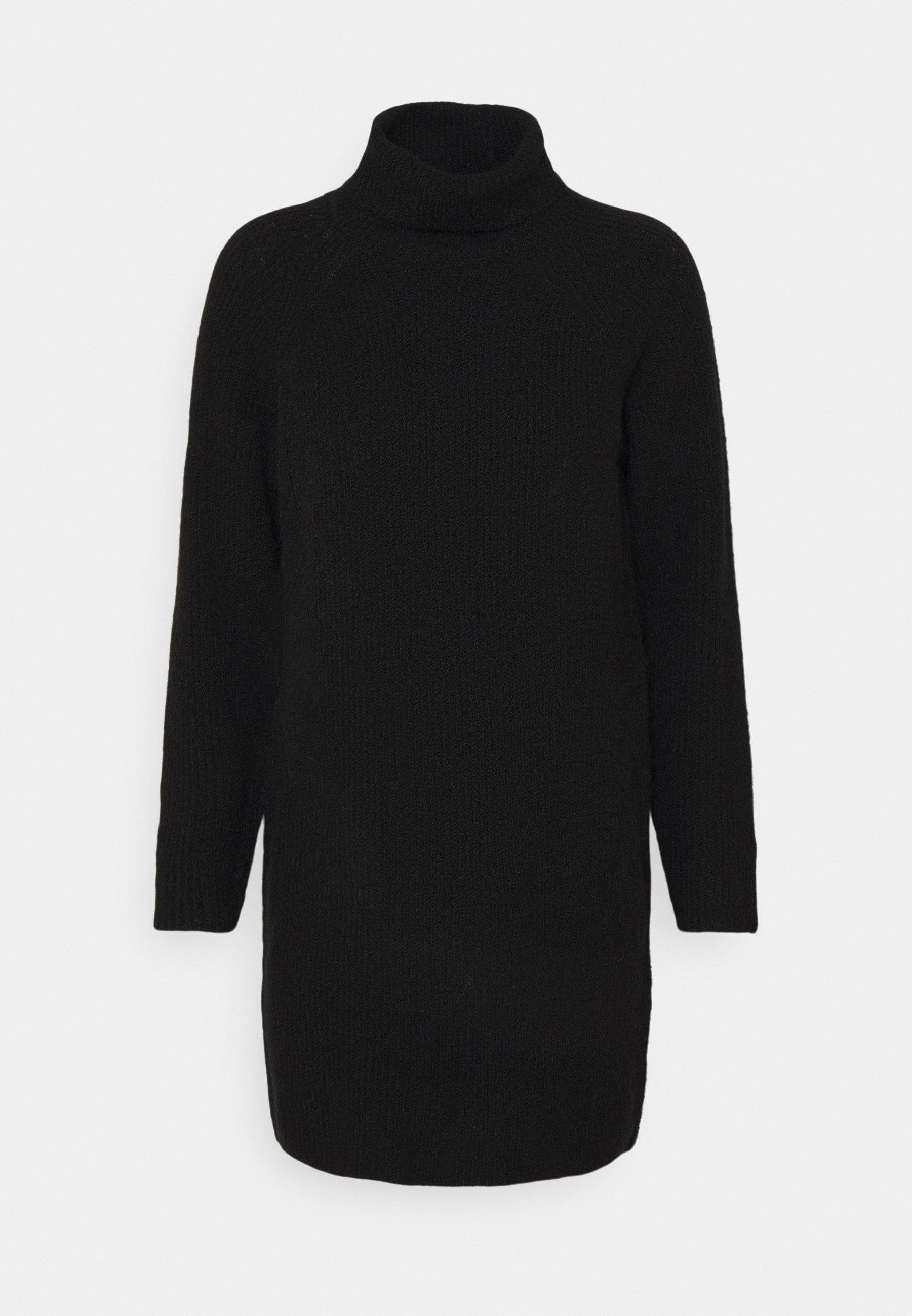 Women PCELLEN HIGHNECK DRESS - Jumper dress