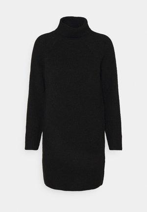 PCELLEN HIGHNECK DRESS - Jumper dress - black
