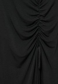 Violeta by Mango - MET GESMOKT DETAIL - A-line skirt - zwart - 5