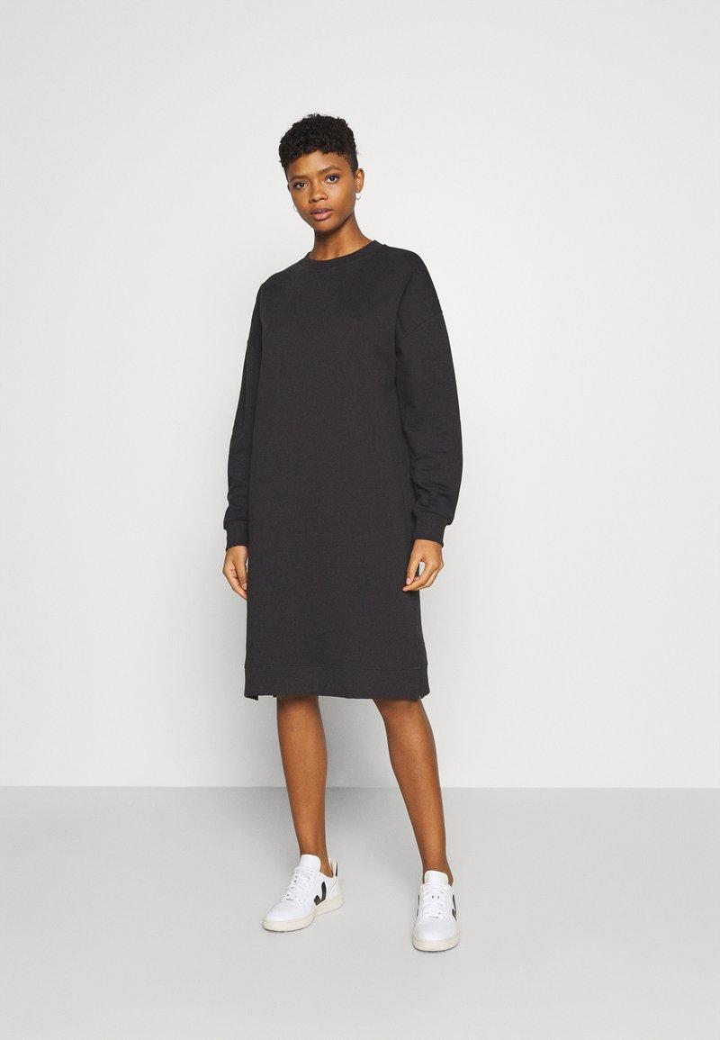 Gina Tricot - RILEY DRESS - Day dress - off-black