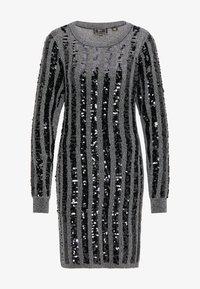 faina - Shift dress - silber - 4
