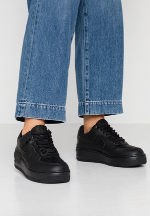 AIR FORCE 1 SHADOW - Sneakers laag - black