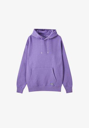 Mikina skapucí - purple