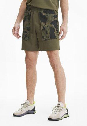 FIRST MILE SHORT - Sports shorts - burnt olive