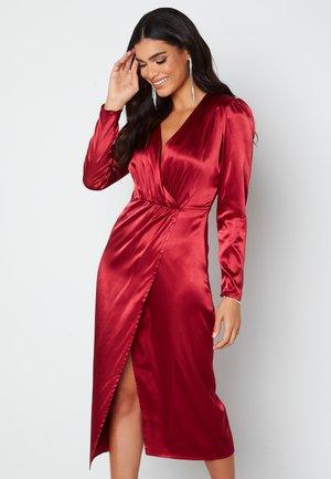 Cocktailjurk - dark red