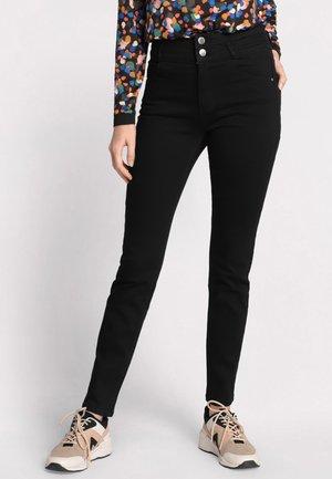 MIT HOHER TAILLE - Slim fit jeans - black denim