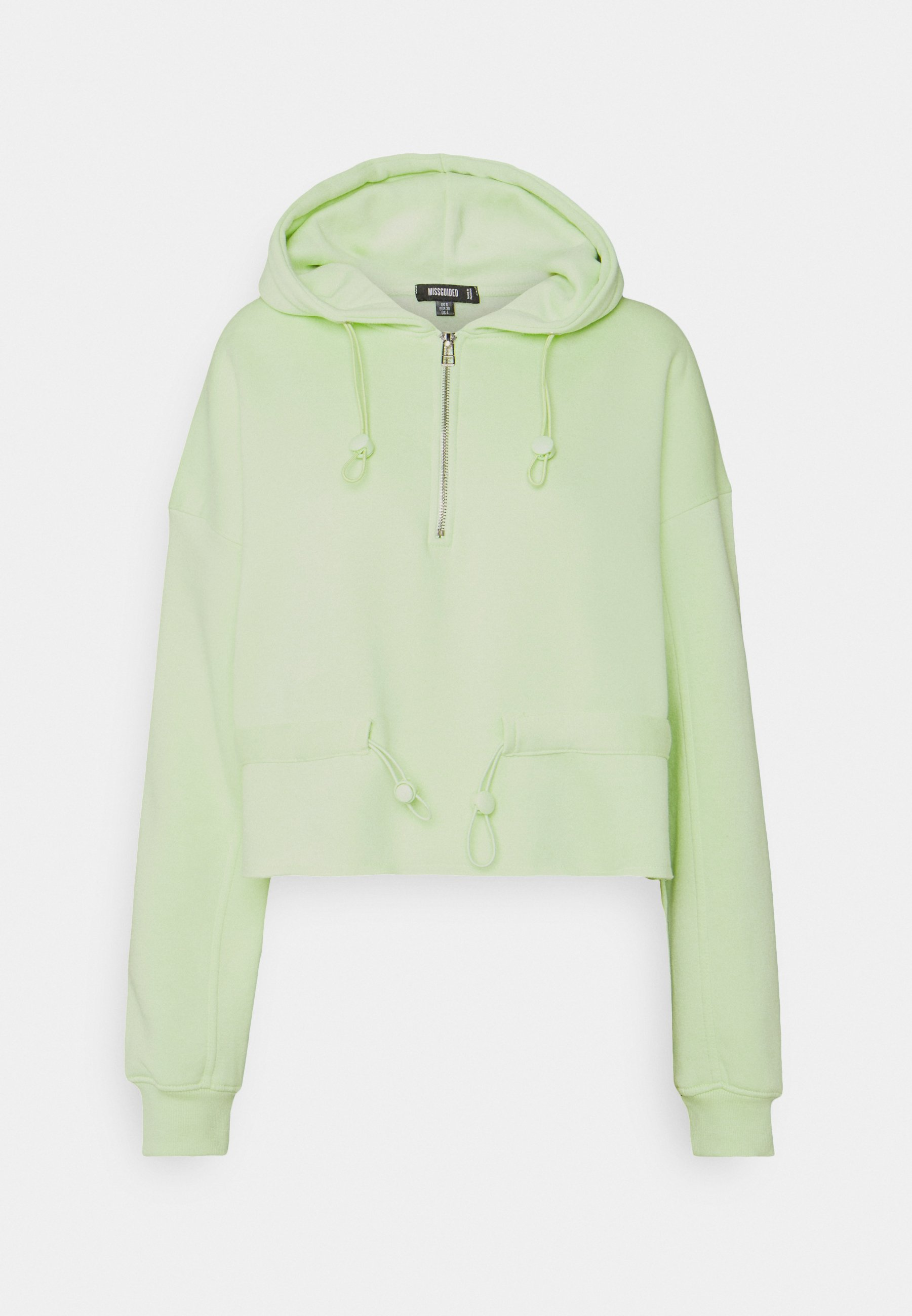 Missguided COORD HALF ZIP CYCLING SHORT SET Sweatshirt