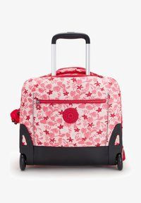 Kipling - School bag - pink leaves - 0