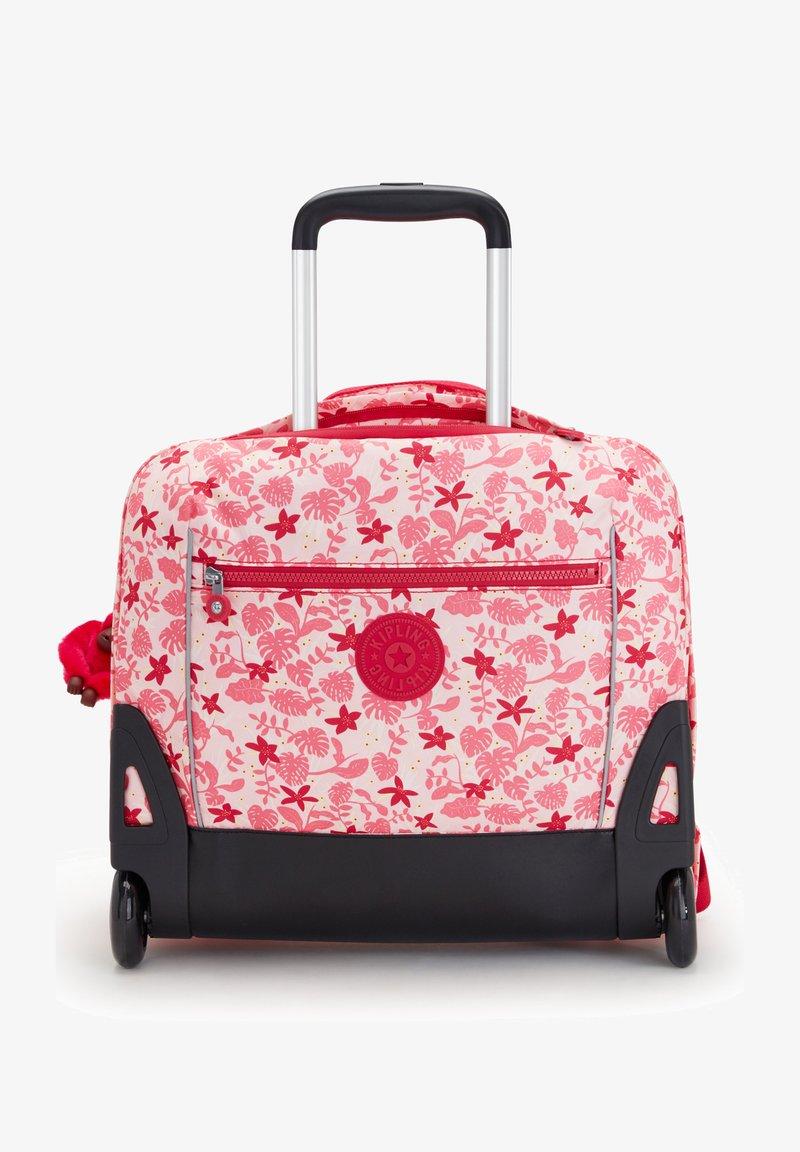 Kipling - School bag - pink leaves